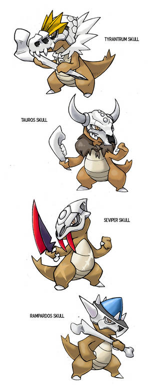 Marowak Variations meme