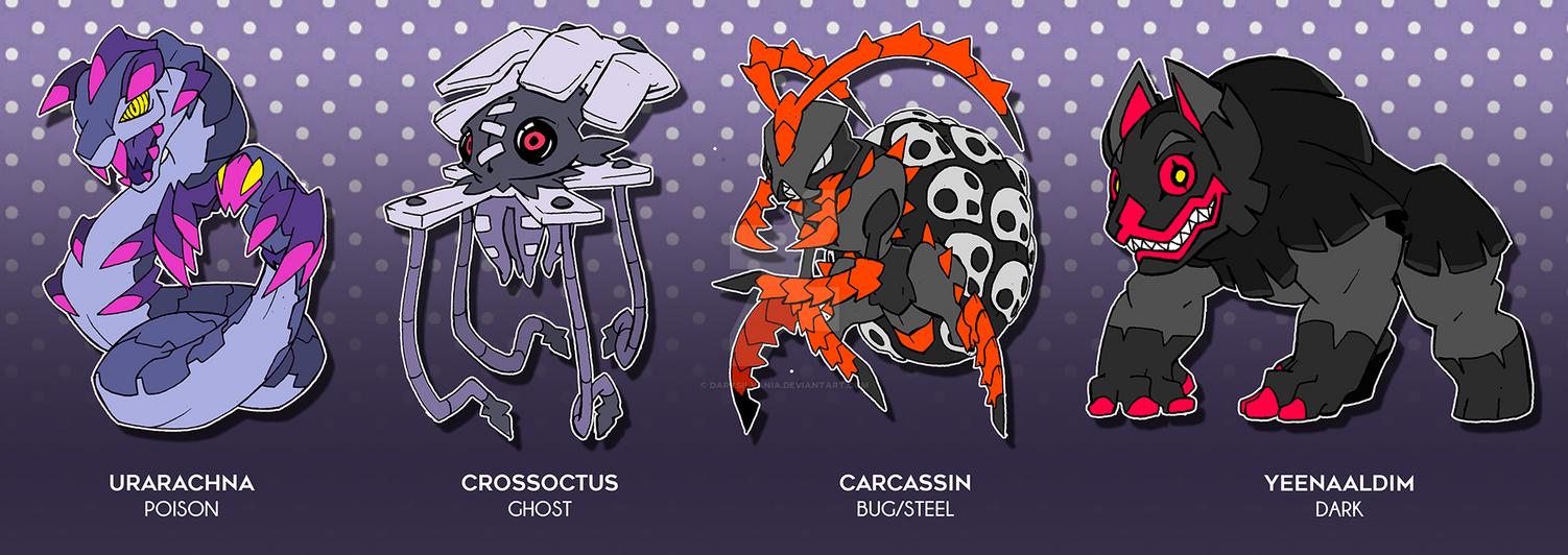 Creepy Crawly Adoptables by Darksilvania