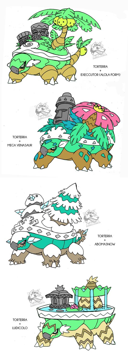 Torterra's Alola forms/Crossbreed by Darksilvania on DeviantArt