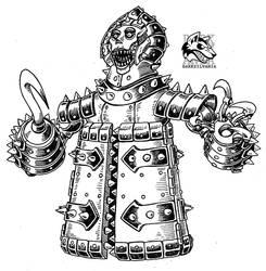 Drawlloween 24- Mechanical Monstrosity