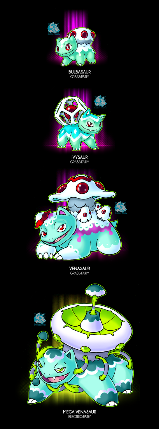 Kroelian Bulbasaur by Darksilvania