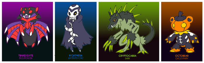 Spooky Adoptables - CLOSED