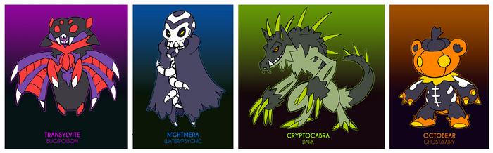 Spooky Adoptables - CLOSED by Darksilvania