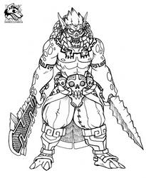 Commission for Slothsombrero by Darksilvania
