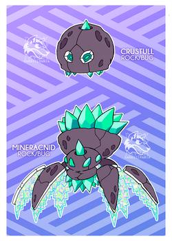 Crystal Crawlies (SOLD) by Darksilvania