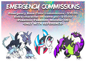 EMERGENCY COMMISSIONS (Closed)