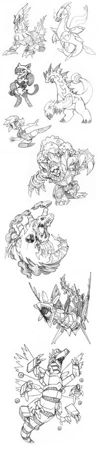 Sketch Commissions Artdump