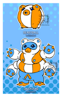 Water Bear Adoptables (SOLD)