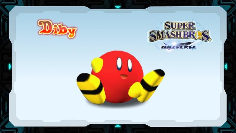 Super Smash Bros Universe: Diby by weegeeish