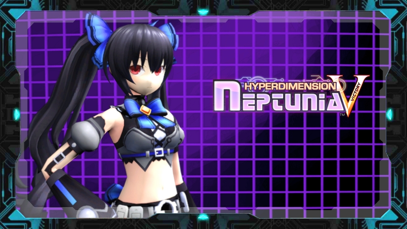 Hyperdimension Neptunia Victory -  Noire by weegeeish