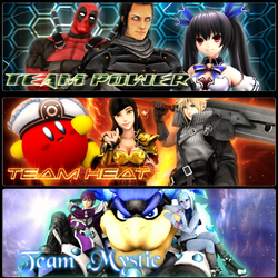 Hero's Universe: The Warriors of Light (Render) by BraveDragonWolf