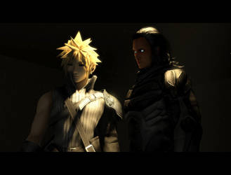 Hero's Universe The Movie: Cloud Strife Scene by BraveDragonWolf
