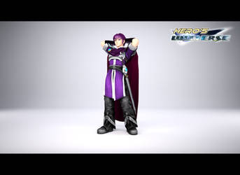 Hero's Universe: Meet Zeil by BraveDragonWolf