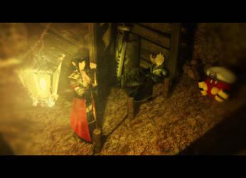 Hero's Universe Movie - The Cave Scene by BraveDragonWolf
