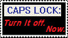 CAPS LOCK STAMP by Master-Ziggy