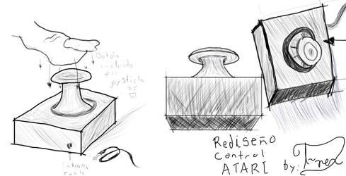 Rediseno Control Atari #2 by T--rex
