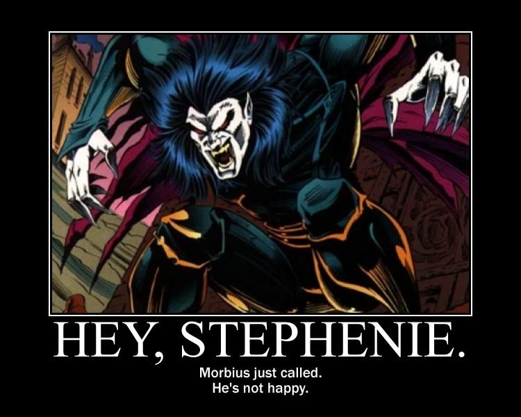 Hey, Stephenie. by NearRyuzaki90