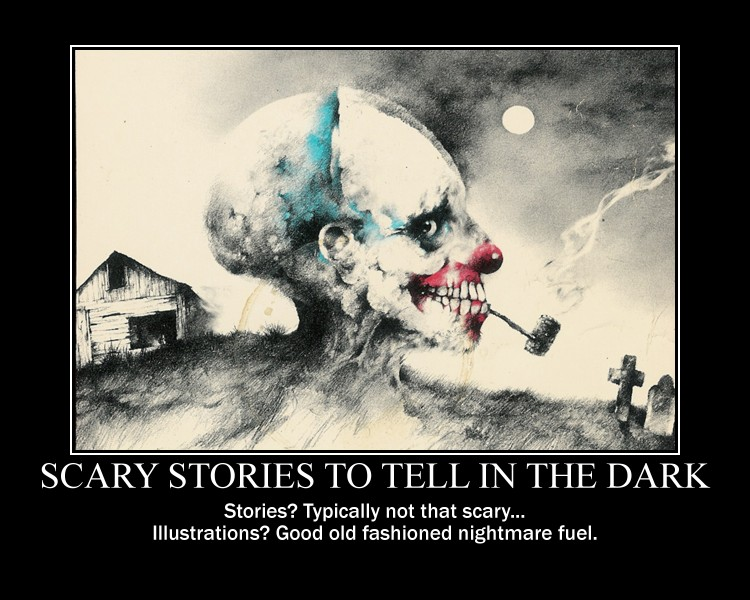 Scary Stories by NearRyuzaki90
