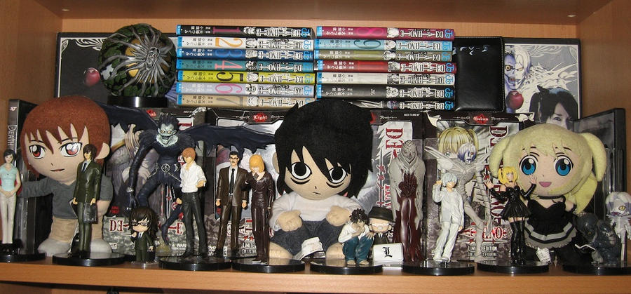My Death Note collection by NearRyuzaki90