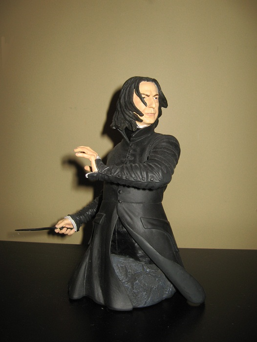 My Snape bust by NearRyuzaki90