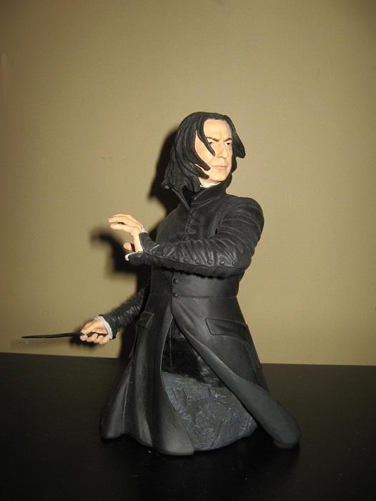 My Snape bust by NearRyuzaki90