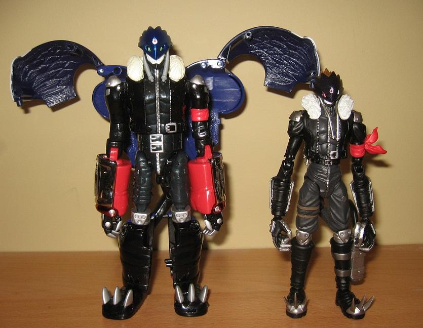 Beelzebumon's two forms by NearRyuzaki90