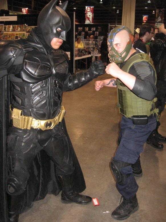 Batman vs Bane by NearRyuzaki90