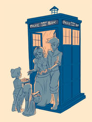 Halloween at the TARDIS by trustahope