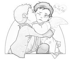 Destiel!!! by MpregWinchester