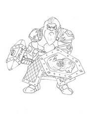 Schild - Knight