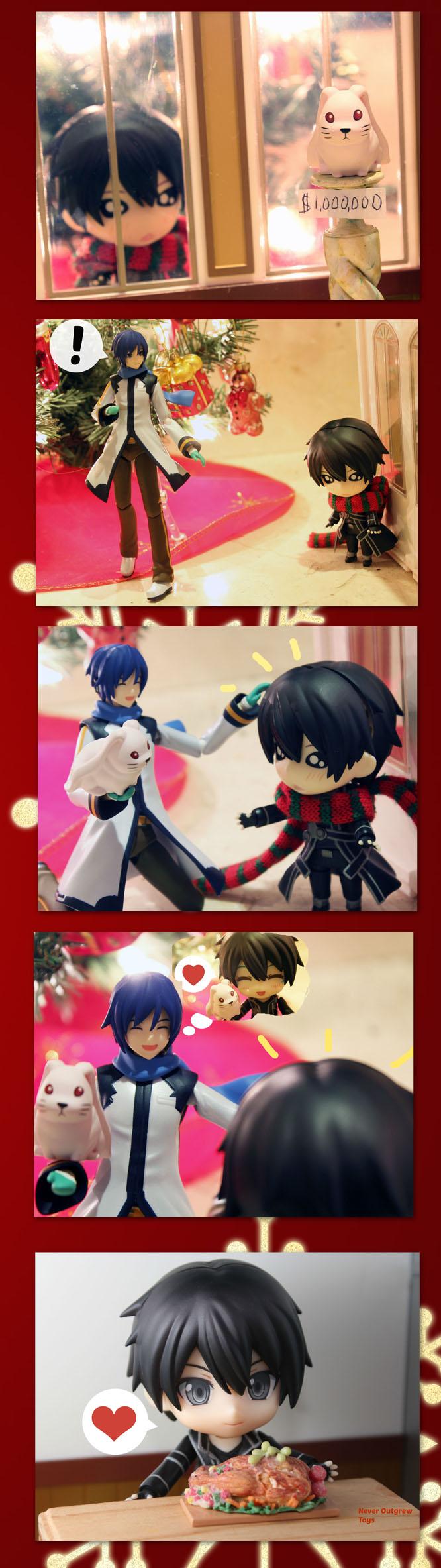 Figure Comic: Generosity by Yami-Usagi