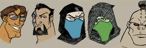 Mortal Kombat I: Roster