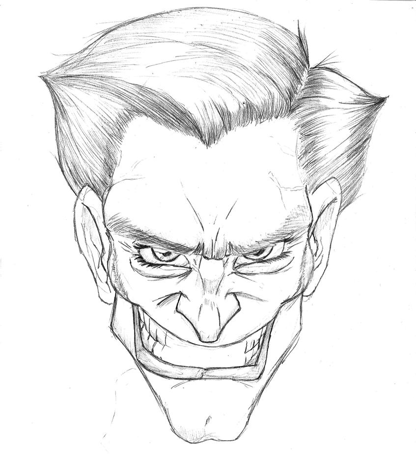 Joker Face By Azrael Al10