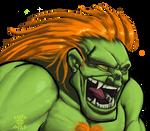 Street Fighter II - Blanka