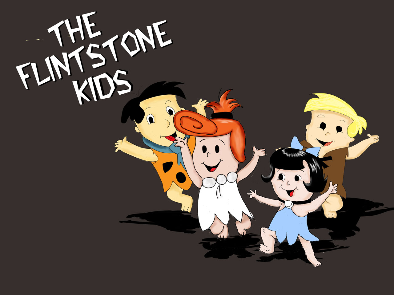 Flinstone Kids by moonburst23