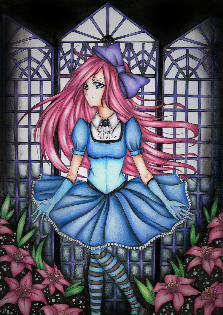 random pink chan by Riiful