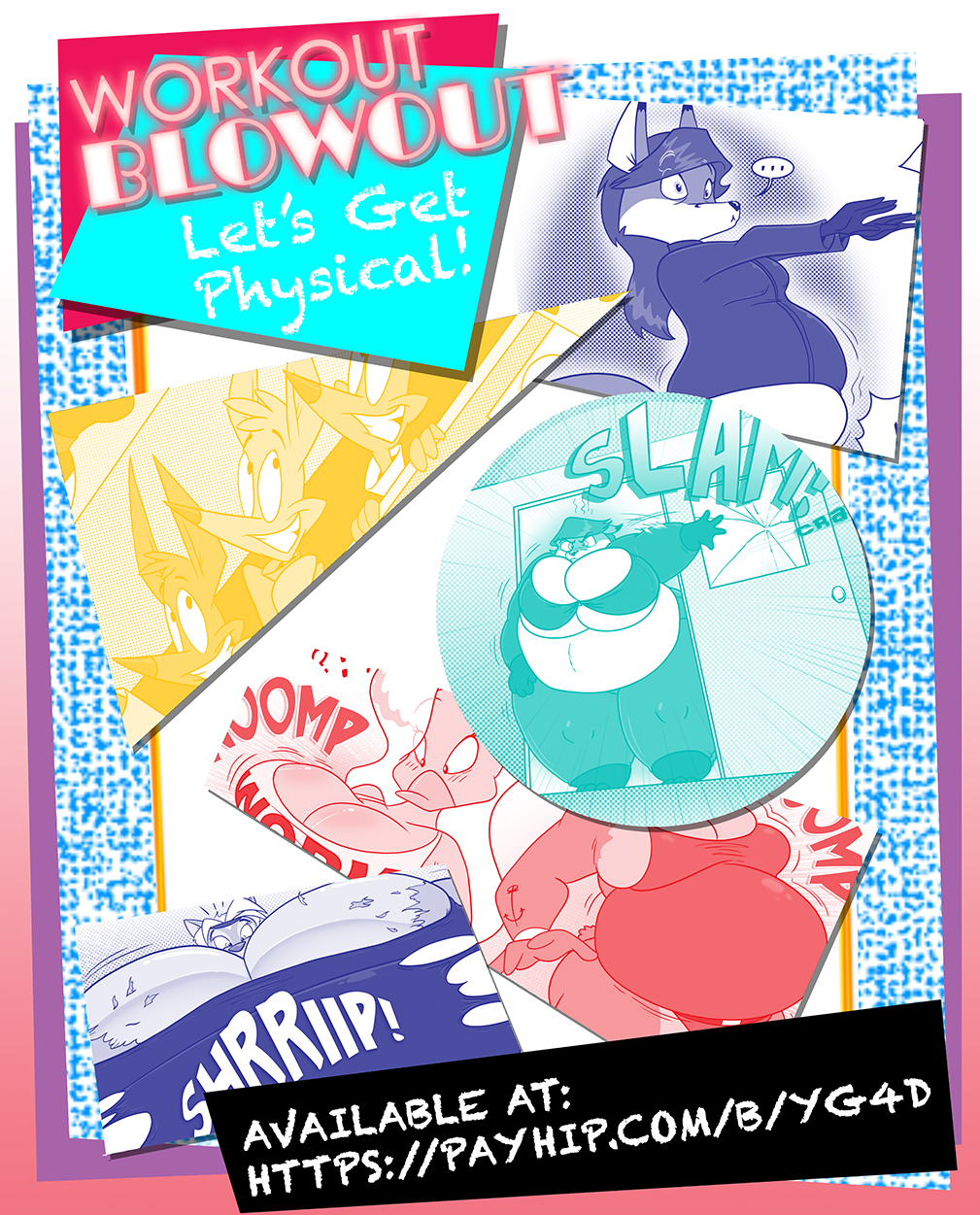 Issue 4: Workout Blow Out is now Available by GreyOfPTA