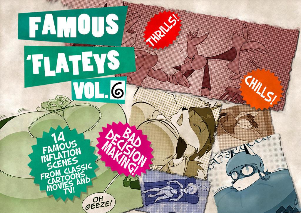 Famous 'Flateys Vol. 6 Ad by GreyOfPTA