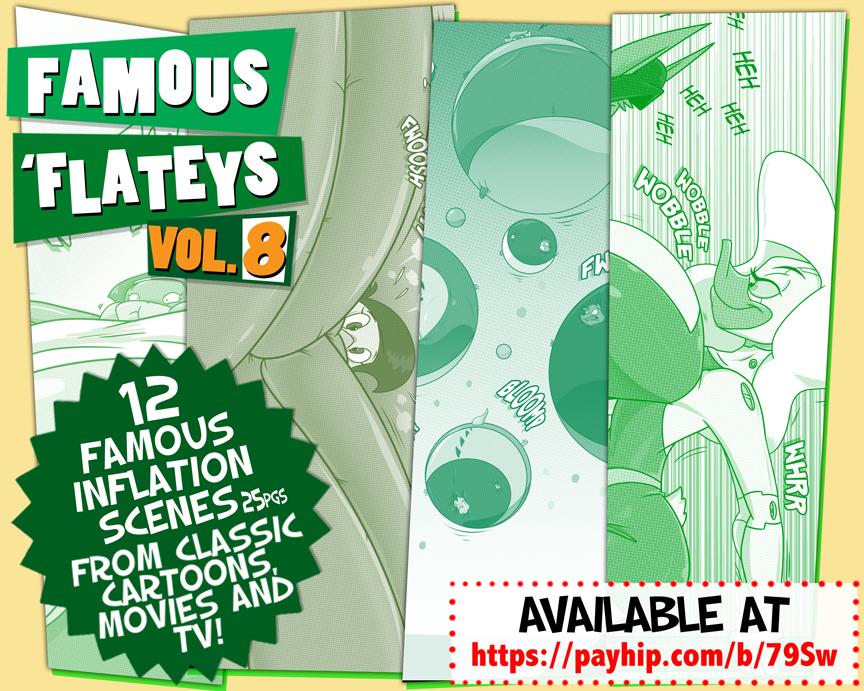 Famous Flateys Volume 8 by GreyOfPTA