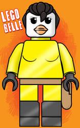 Lego Belle by GreyOfPTA