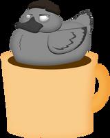 Coffee Duck by GreyOfPTA