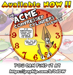 Acme Compressed Cylinders 2020 Calendar Is Out!