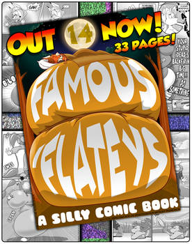 Famous Flateys Volume 14 Is Now Available