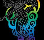 Trumpet Colored by WendysKaleidoscope