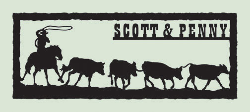 Cowboy Sign by WendysKaleidoscope