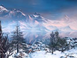 Majestic Mountains by estevez