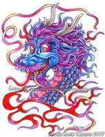 Cotton Candy Dragon by AnnieMsson