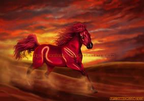 Skyfire by AnnieMsson