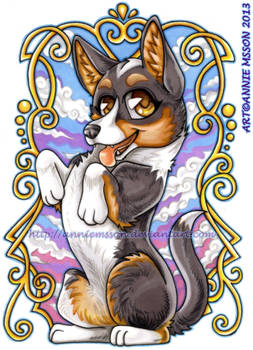 Hiro - The Welsh Corgi Cardigan