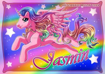 Pony for Jasmin by AnnieMsson